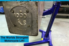 Worlds Strongest Motorcycle Lift
