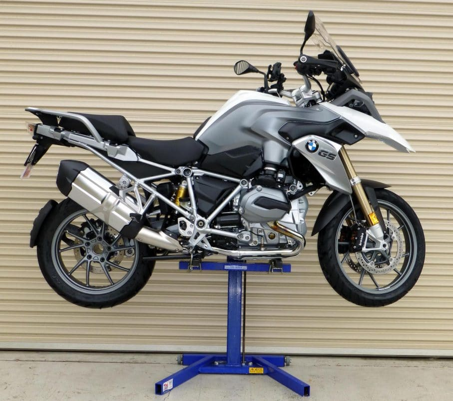 BMW 1200 GS Service Lift