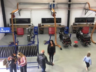 Big Blue Lifts in Service Centre