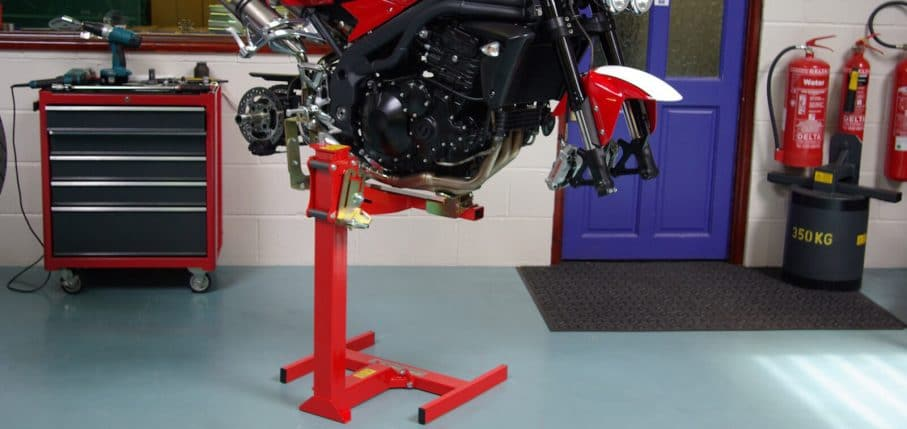 Triumph Speed Triple workshop Lift