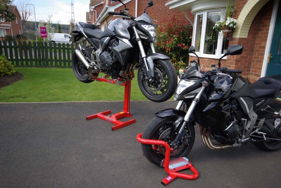Motorcycle Security Stands