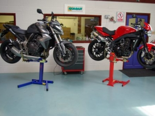 Motorbike Service lifts and Stands